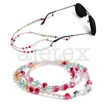 Beaded Glasses Sunglasses Spectacle Beads Chain Strap Cord Holder Neck NEW