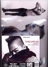 Taeyang: Solar (2013) Bigbang Korea / TAIWAN CD & DVD & PROMO FOLDER SEALED