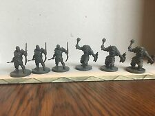 D&D Miniature Lot - 6 Orcs (3 Archers and 3 Bashers) Wrath Ashardalon Monster