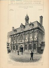 TROYES CHAUMONT 1896 - Raguenet Architecture - 84