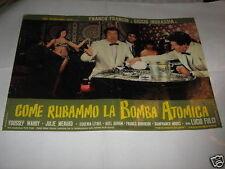COME RUBAMMO LA BOMBA ATOMICA,FRANCO CICCIO,FULCI,