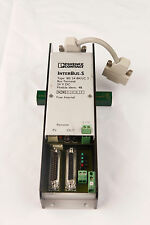 PHOENIX CONTACT INTERBUS-S BUS TERMINAL MODULE MODEL IBS24BK/LC2