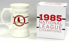 ST LOUIS CARDINALS 1985 NATIONAL LEAGUE CHAMPIONS BEER STEIN SGA NIB 5000556