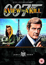 A VIEW TO A KILL DVD JAMES BOND 007 REMASTERED EDITION Roger Moore New UK