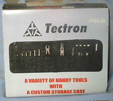Tectron Tool Set With Custom Storage Soft Case 26 Pieces, Compact, Handy