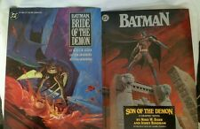 DC Comics BATMAN BRIDE OF THE DEMON AND SON OF THE DEMON
