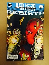 RED HOOD AND THE OUTLAWS REBIRTH #1 FIRST PRINT DC COMICS (2016) BATMAN BIZARRO