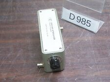 AGILENT HP 355C VHF ATTENUATOR ATTENUATEUR 0 to 12dB DC to 1GHz *D985