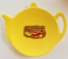 THE FAB FOUR Yellow Submarine YELLOW CERAMIC TEA BAG TEABAG TIDY HOLDER