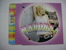 MADONNA - WHAT IT FEELS LIKE FOR A GIRL - CD SINGLE GERMANY 2001 - 4 TRACKS