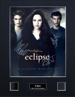 Eclipse Signed by 3 Ver1 Photo Film Cell Presentation