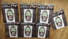 L@@k!!! Duck Dynasty Window Decals wholesale lot (6) Car Truck Boat New
