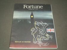 1946 FEBRUARY FORTUNE MAGAZINE - GREAT COVER & ADS - F 207