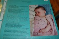 Fiber Trends Knitting Pattern CH-24 Easy Knit Baby Blankets #2