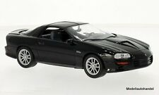 Chevrolet Camaro SS 2002 negro - 1:24 Welly