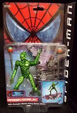 """Marvel Spider-Man Movie Figure 6"""" GREEN GOBLIN w/Glider New! Rare!"""