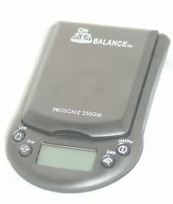 Digital Pocket Scale [by Proscale] Up 250gr - 0.1gr, Black