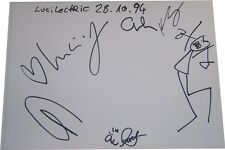 Lucilectric SIGNED AUTOGRAPH MTVs Most Wanted AFTAL UACC RD