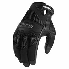 NEW ICON 29ER GLOVES STREET BIKE MOTORCYCLE MENS BLACK SIZE Medium M