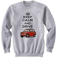 POLISH MALUCH RED KEEP CALM 2 - NEW COTTON GREY SWEATSHIRT ALL SIZES IN STOCK