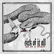 Last Act of Defiance by Sick of It All (Alt Rock) (CD, Sep-2014, Century...