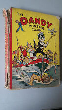DANDY MONSTER COMIC 1942 vintage annual