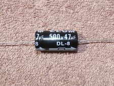 47uf / 47mfd - 500V - Axial Electrolytic Capacitor - 1 piece