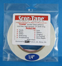 "Scor-Tape Adhesive 1/4"" x 27yd by Scor-Pal - Value!"