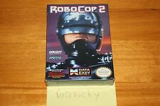 RoboCop 2 (Nintendo NES) NEW SEALED H-SEAM NEAR-MINT, RARE!