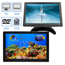 "10"" IPS LED Color Monitor  Screen HDMI VGA HD 1280*800 Video Display w/ Speaker"