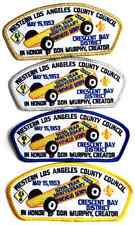Boy Cub Scout Western Los Angeles Council CSP Patch TA-14 TA-15 TA-16 TA-17 Set
