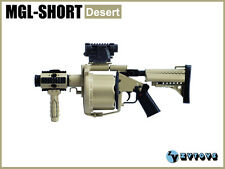 ZY Toys 1/6 Action Figure Toy MGL-Short Desert Multiple Grenade Launcher