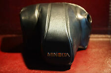 Rare Minolta CF700 Original Branded SLR Leather Case Excellent Order JAPAN