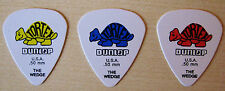GUITAR PICKS JIM DUNLOP TORTEX BRAND NEW SEALED SET OF THREE 60 DAY GUARANTEE