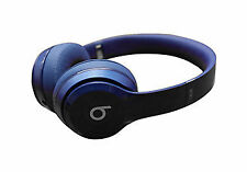 New Beats Solo 2 By Dr Dre HD Wired On Ear Headphones -Blue