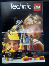 Catalogue Lego Technic - 1984