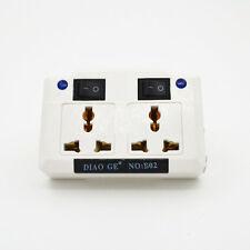 1Pcs US EU AU UK To Germany Schuko Travel Socket Schuko Plug Adapter With Switch