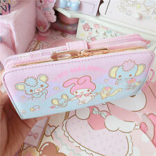 Sweet Lolita Cartoon Melody Japanese Kawaii Cute Long Wallet Handbag Purse