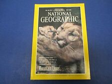 National Geographic Magazine, July 1992, Mountain Lions; Gulf Coast; Albania