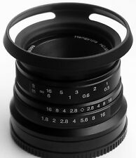 Hengyijia HD.MC 35mm F1.8 (Black) Manual Focus LENS f/ Fujifilm FX Mount Camera