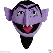 DRACULA Count Von Count Muppet -Sesame Street Halloween -WindoCling Stcker Decal