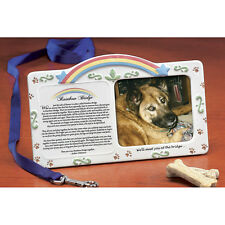 NEW Memorial Sympathy Rainbow Bridge Pet Picture Frame