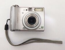 Canon PowerShot A520 4.0 MP Digital Camera - Silver Memory Card Work With Defect