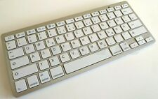 Bluetooth Wireless Mini Deutsche Tastatur Ultra Slim f. iPad iPhone Apple Mac OS