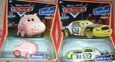 CARS THE MOVIE VEHICLES HAMM AND LEAKLESS MINT ON CARDS