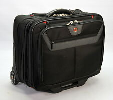"Wenger Swiss Army GA-7085-14 17"" Laptop Briefcase Roller Wheeled Carry On Bag"