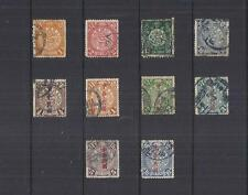 y1168 China  /  A Small Collection  Early Issues Used