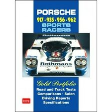 Porsche 917 935 956 962 Sports Racers Gold Portfolio book paper