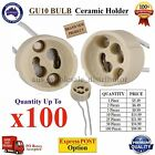 GU10 Socket Holder 240V Connector Adapter LED bulb lamp CFL base Ceramic Halogen