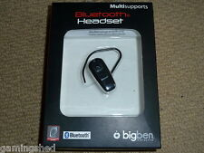 PLAYSTATION 3 PS3 Mini Bluetooth Vivavoce Kit Auricolare + CARICABATTERIE USB NUOVO di zecca!